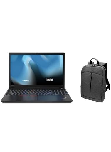 "Lenovo ThinkPad E15 20RES60400Z48 i5 10210U 8GB 1TB SSD RX640 Fdos 15.6""+Çanta Hediye Renkli"